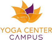 Yoga center campus logo for footer
