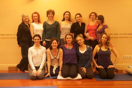 Workshop with Liz Lark Yoga Center Madrid