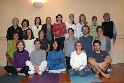 Mira Mehta en Yoga Center Madrid